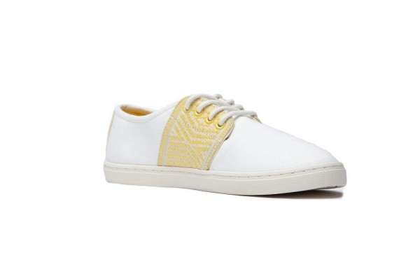 N'go Shoes Mekong Mui Ne | White Canvas