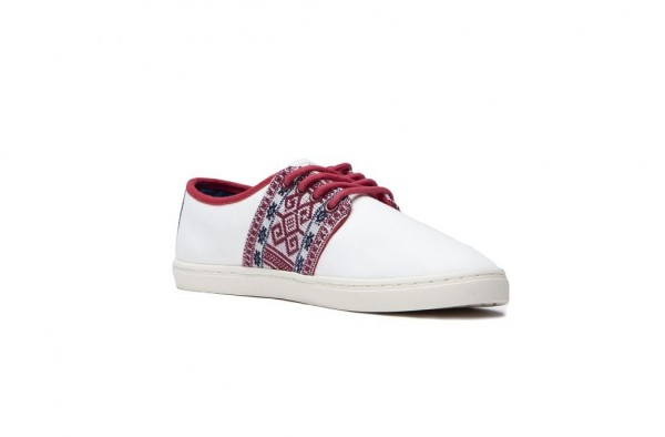 N'go Shoes Mekong Phu Quoc | White Canvas