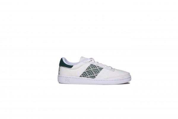 Saigon Vegan Kon Tum White Petrol Green